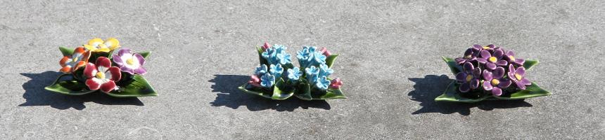 Porselein bloem mini