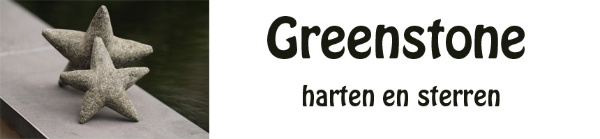 Hart en ster greenstone