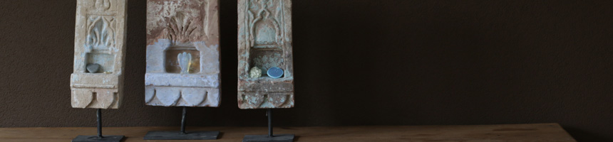 Huisaltaar tempelsteen