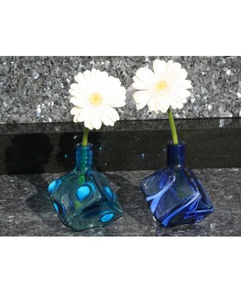 Hand gemaakt vaasje Blauw