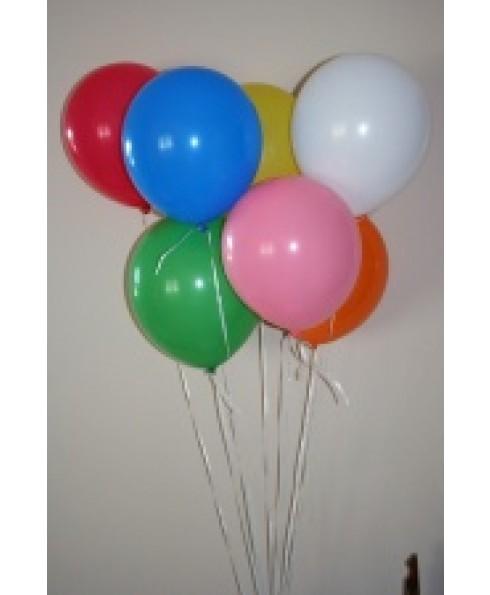 Gewone ballonnen, kleurenassorti.