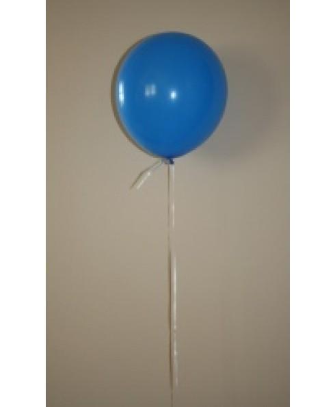 Heliumballon blauw.