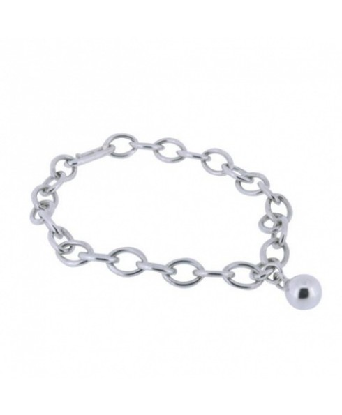 Bedel armband zilver