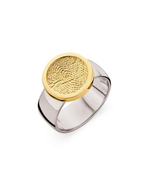 Ring Bliss 2 vingerafdruk