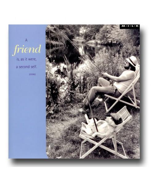 A friend is,