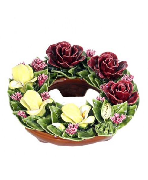 Krans rozen iris