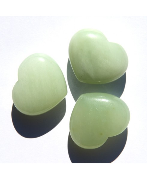 Chinese Jade hart, klein