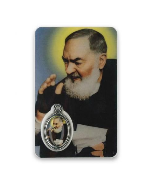 Gebedskaartje Pater Pio