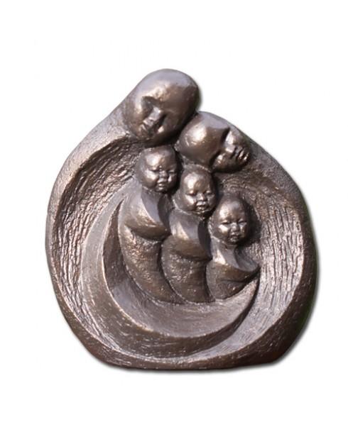 beeld gezin 3 kinderen