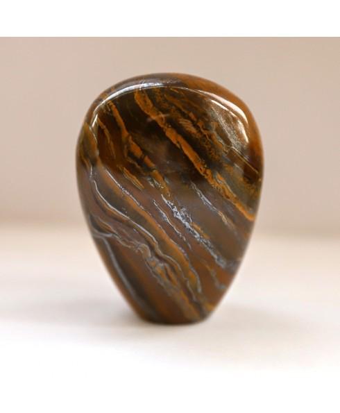 Tijgerijzer gedenk steen