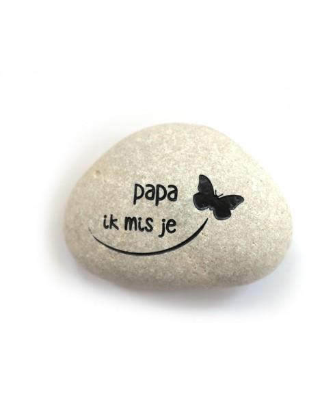 Papa ik mis je