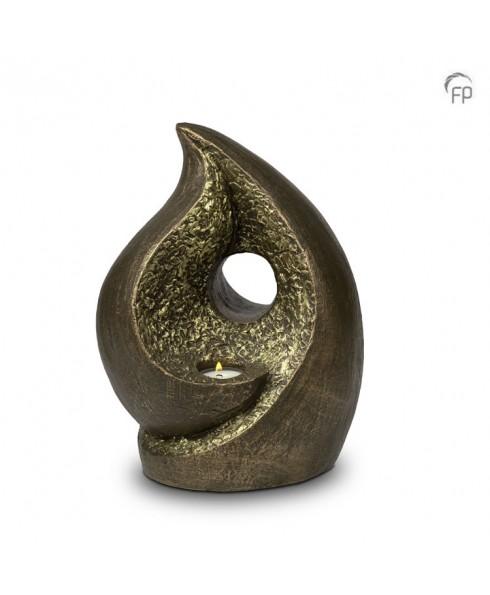 In tranen brons urn