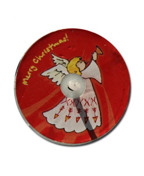 Kerst engel waxinelichtje