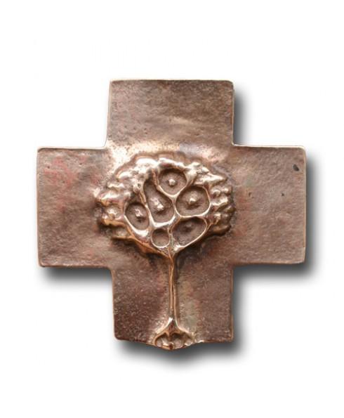 Kruis met levensboom.