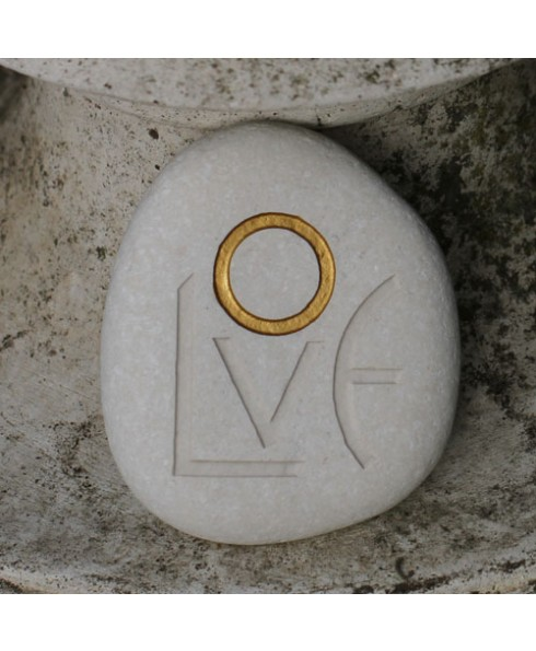 Love steen wit