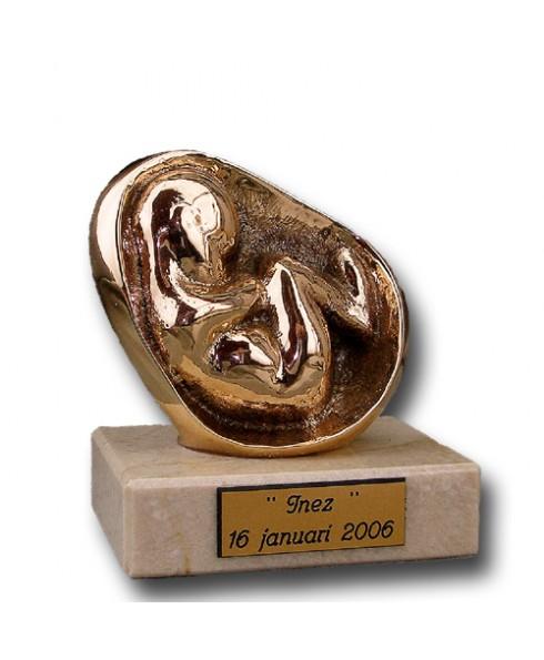 Bronzen beeld Geboorte