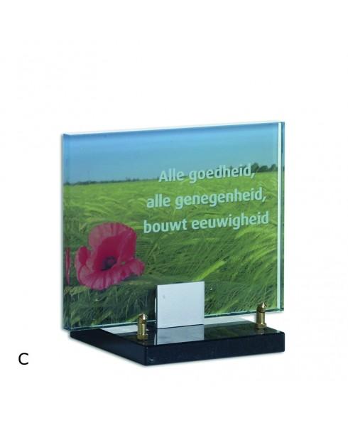Foto op glas 18 x 23