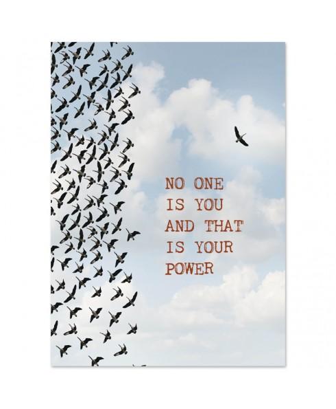 Postkaart Your power