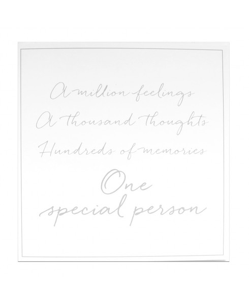One special person
