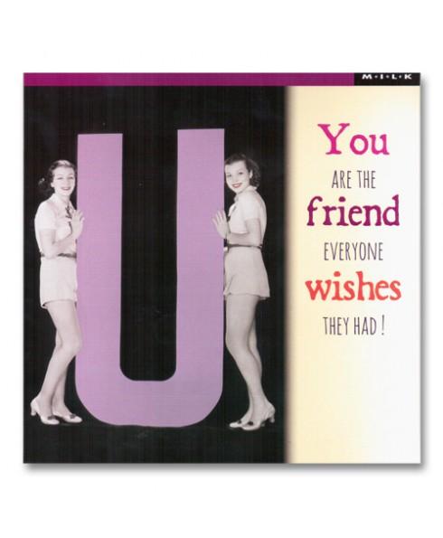 Friend wishes