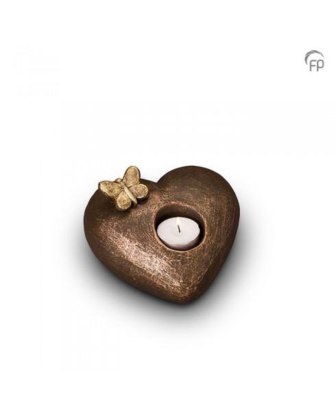 Tederheid brons urn