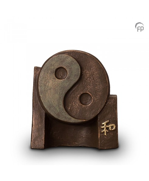 Yin-Yang brons urn