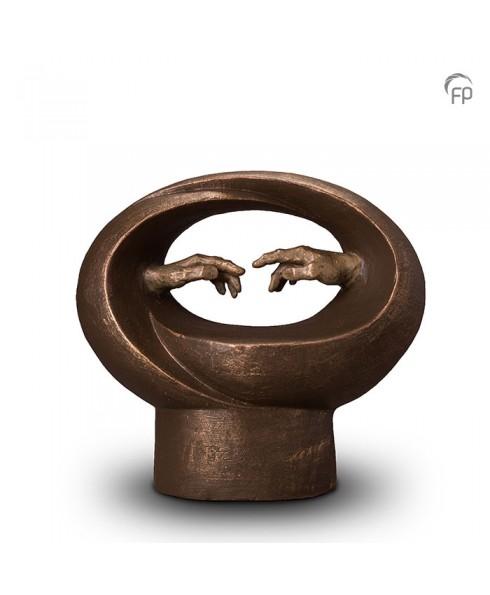 Michelangelo brons urn