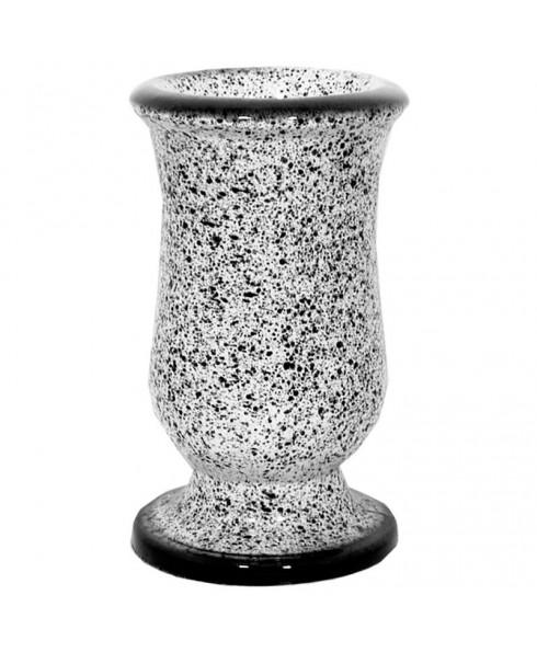 Gewelfde vaas voor buiten
