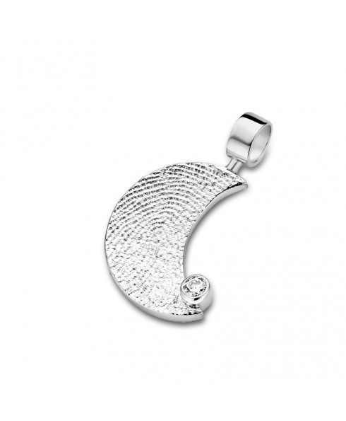 Fingerprint Moon briljant / zirconia