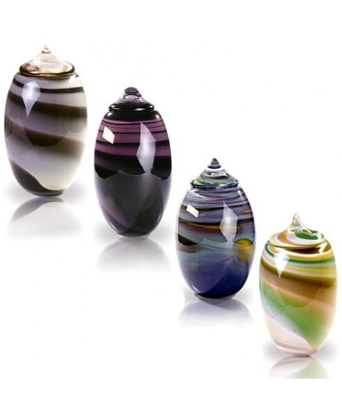 Ymir glazen urn