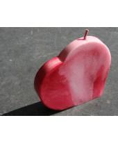 Hart kaars klein rood