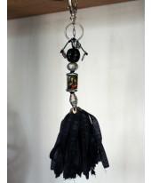 Grote bonfim hanger zwart.