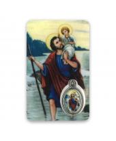 Gebedskaartje Kristoffel