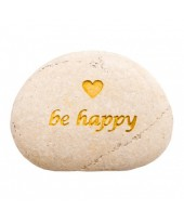 Be Happy tekststeen