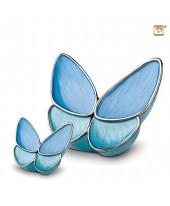 Vlinderurn blauw