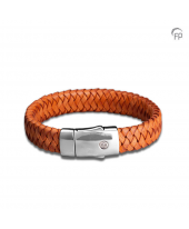 Embrace Brede armband oranje