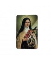 Gebedskaartje Heilige Theresia