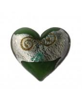 Barok groen met krul