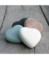 Stenen hart groot