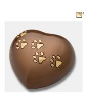 Hart urn dier bruin