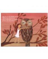 Postkaart knuffel