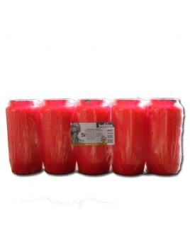 5-pack groot rood
