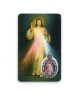 Gebedskaartje Barmhartige Christus