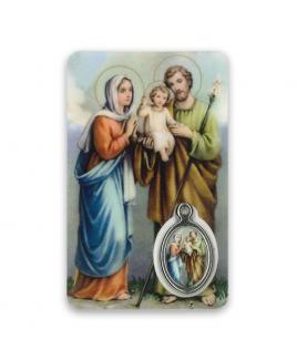 Gebedskaartje Heilige Familie