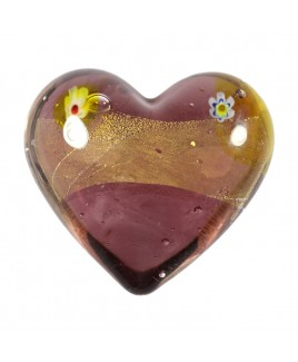 Barok hart lila