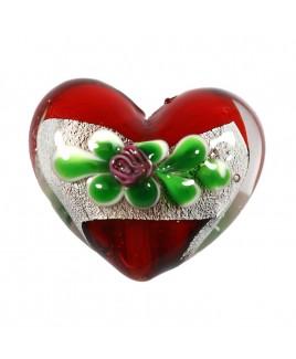 Barok hart rood