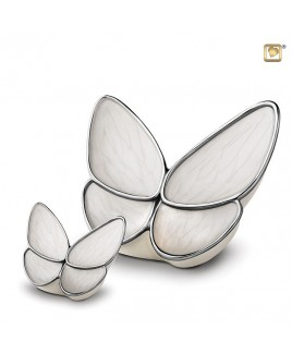 Vlinderurn wit