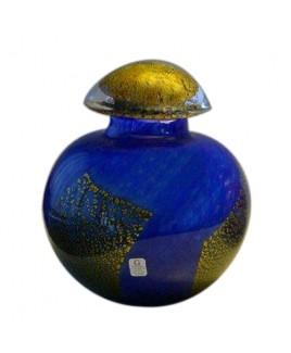 Urn Rond Klein Blue