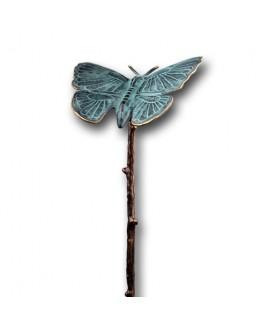 Vlinder van brons.