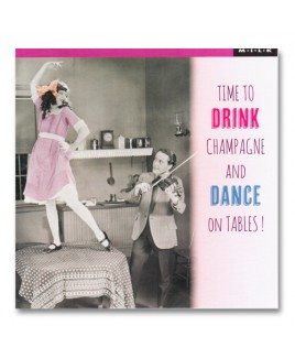 Drink and dance